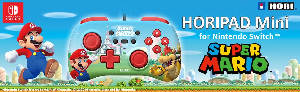 Amazon.com: Nintendo Switch HORIPAD Mini Super Mario by HORI Officially  Licensed by Nintendo: Video Games