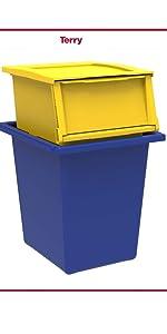 raccolta differeziata, mobile immondizia, contenitore rifiuti, mobile da esterno