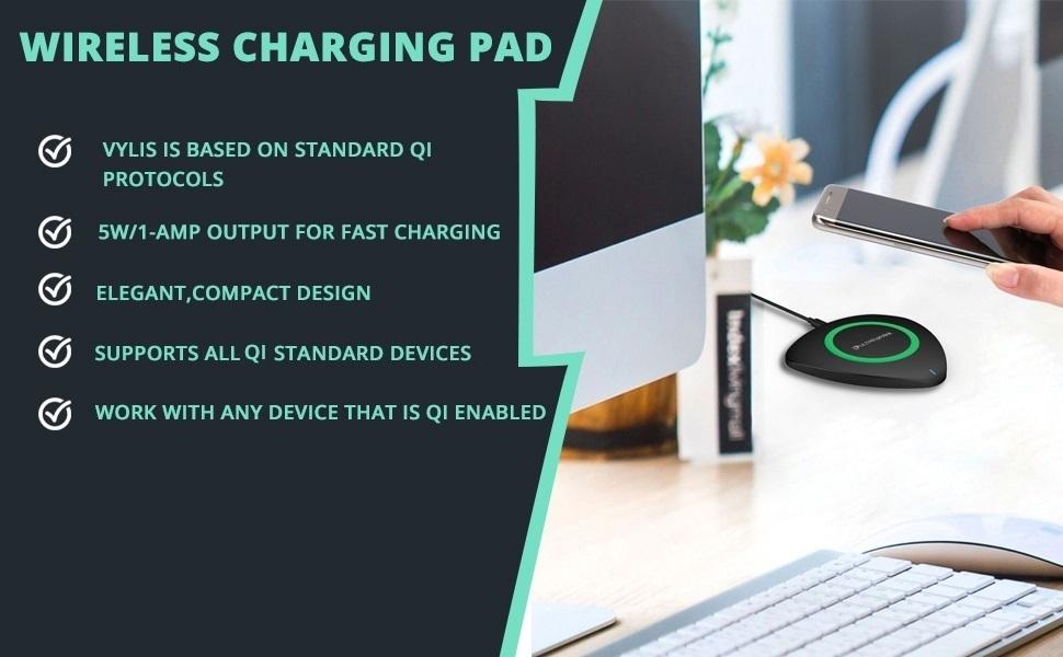 SPN-TP3A0 UltraProlink UM0073 Vylis Wireless Charger wireless Charging pad Fast charging wireless