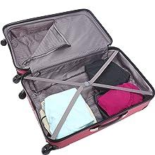 Luggage, Rose Gold, Hardside, Designer, Suitcase, Mens, Kenneth Cole, Bag, Travel