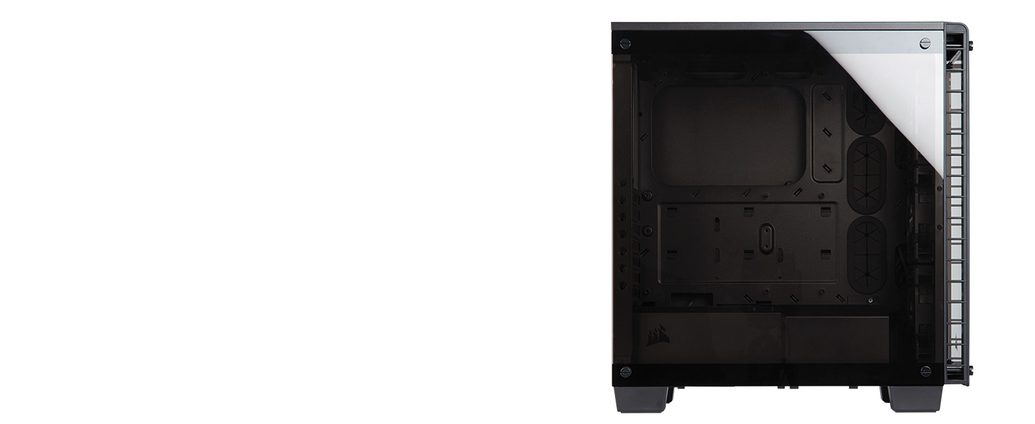 CC-9011101-WW Crystal Series 460X RGB Compact ATX Mid-Tower Case