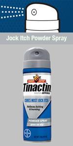 Tinactin Jock Itch Powder Spray tolnaftate for tinea cruris jock itch treatment tinea pedis cream