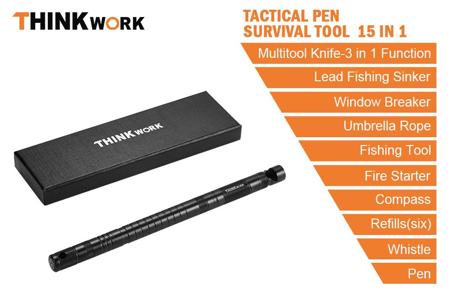 tactical pen survival tool