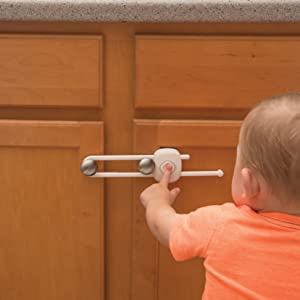 Safety 1st OutSmart Slide Lock, childproof cabinet lock, childproof lock, baby lock