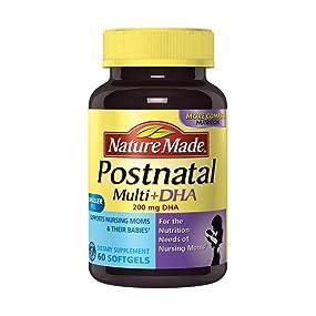 Nature Made Postnatal Multi Plus 200 mg DHA