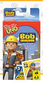 UNO Junior Bob der Baumeister
