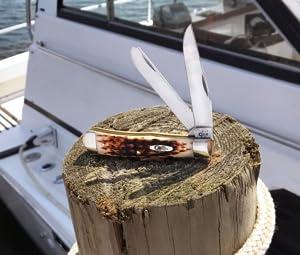 trapper, case trapper, trapper knife, pocket knife, wr case trapper, folding knife, bonestag knife