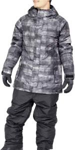 スノーボードウェア ジャケット パンツ セット メンズ