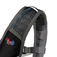 Get a great fit; Adjustable Hydration Backpack with waist belt. Camel back style pack