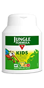 Jungle Formula Kids Lotion