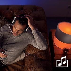 Işığı müzik ve filmlerle senkronize edin