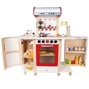 Hape E8018 - Küchentraum, Kinderküche inklusive Zubehör