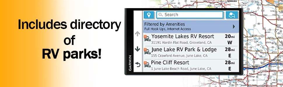 garmin rv 780 rv780 gps navigation touch screen recreation vehicles recreational