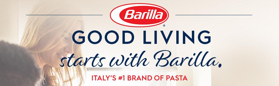 Good living starts with Barilla