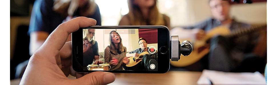 Shure, MV88, Digital Microphone, MFi, Mobile Recording, Digital Recording, Stereo Recording