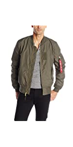 Alpha Industries Men's MA-1 Bomber Flight Jacket: Amazon.ca ...