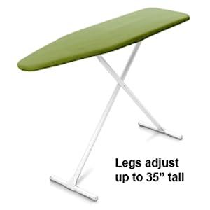 Sturdy Steel legs adjust to any height adjustable tall short folds flat space saving sleek