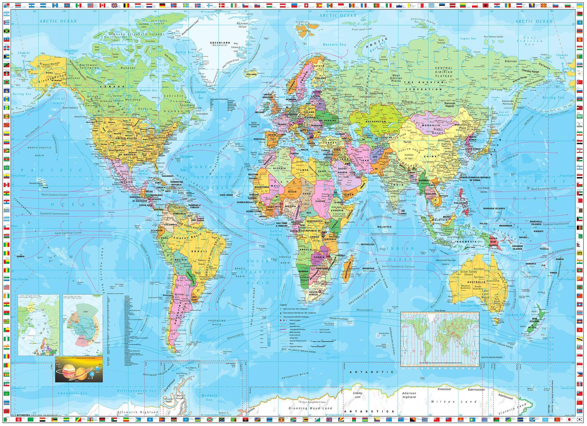 Sunny decor sd055 world map photomural amazon diy tools from the manufacturer world map photomural wallpaper gumiabroncs Images