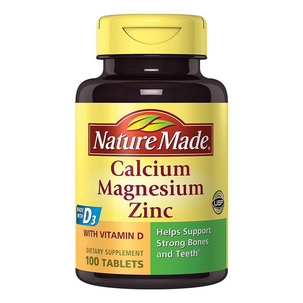 Amazon Com Nature Made Calcium Magnesium Zinc W Vitamin D