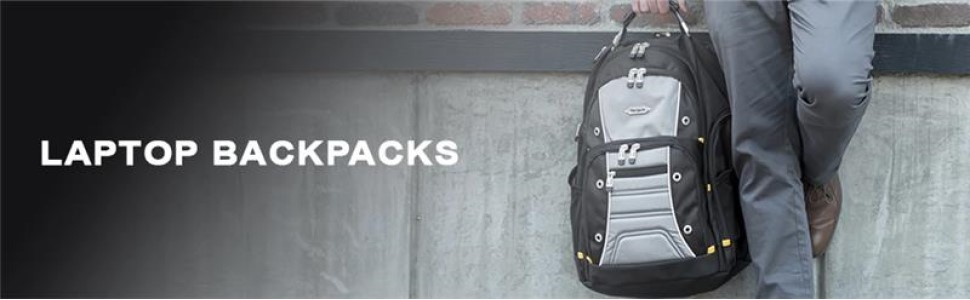 Targus durable modern style black backpack with big compartment