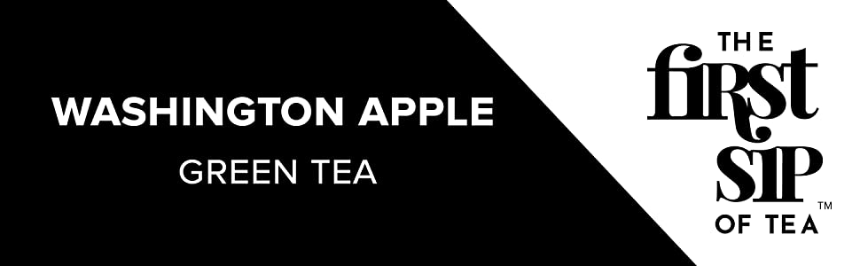 washington apple green tea
