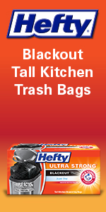 black kitchens bags