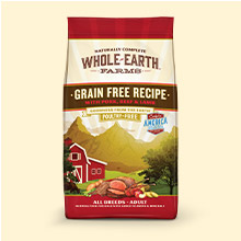 Whole Earth Farms Grain Free Pork Beef Lamb Recipe