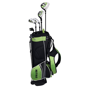 Amazon.com: Nitro Nitro Crossfire Golf Junior 8 piezas, Mano ...
