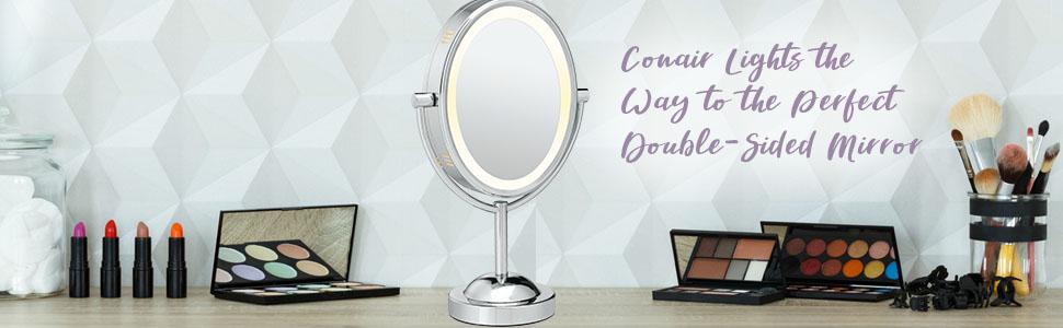 makeup mirror vanity mirror double sided mirror lighted makeup mirror