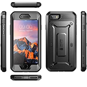 Supcase Unicorn Beetle Pro Series Phone Case Designed for Iphone 8 Plus, with Built-In Screen Protector Full-Body Rugged Holster Case for Apple Iphone ...