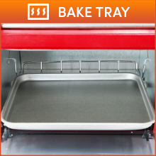 1Aluminum Bake Tray To warm buns and cook other snacks.