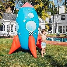Inflatable Backyard Sprinkler by FUNBOY