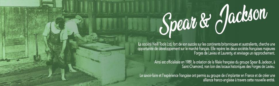 Spear and Jackson, Neill Tools, historisch, geschiedenis en gezelschap.