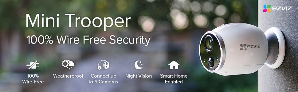 Amazon Com   Ezviz Add  Outdoor Security System