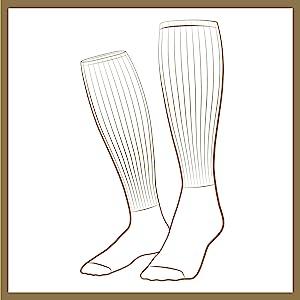 Long socks for men, over the calf socks, best long socks, best over the calf socks, best tall socks