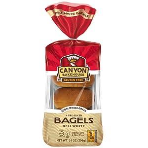 Canyon Bakehouse Gluten Free Deli White Bagels