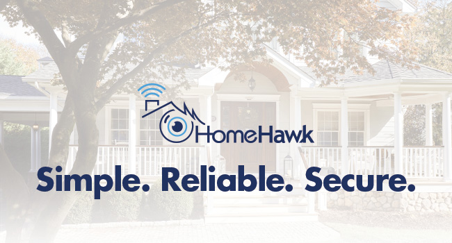 Panasonic HomeHawk Outdoor Exterior Home Monitoring Camera system is simple, dependable and secure.