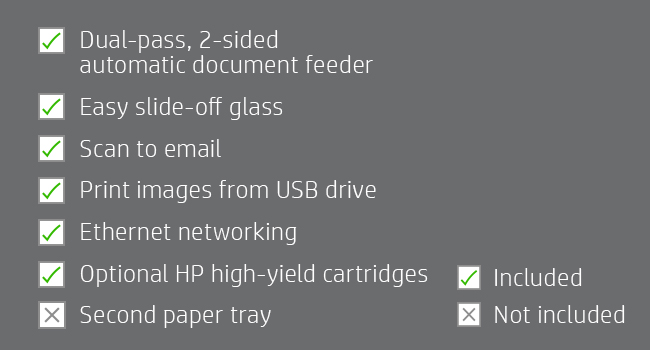 slide-off glass email images USB ethernet high-yield cartridges productivity exchange