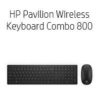HP laptop accessories, HP Pavilion Wireless Keyboard Combo 800