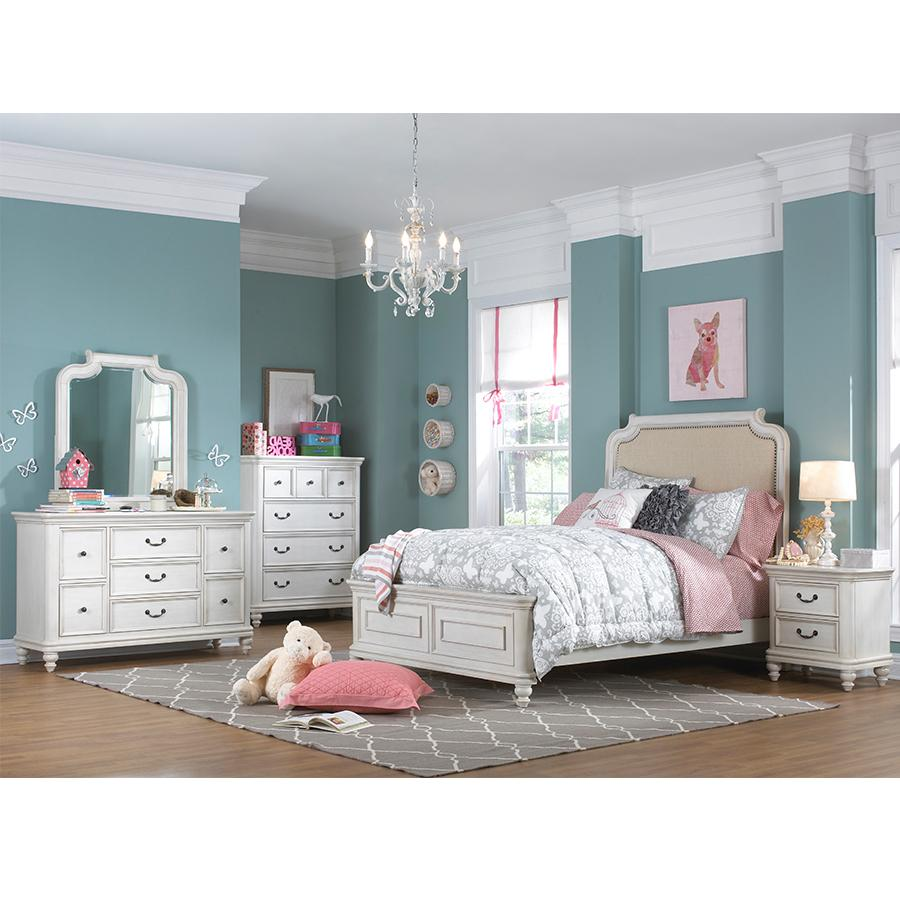 pulaski madison youth 5 piece bedroom set twin. Black Bedroom Furniture Sets. Home Design Ideas