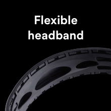 Flexible headband