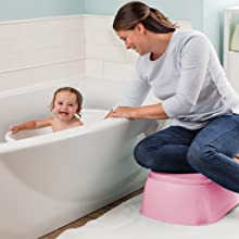 Spacious Toddler Tub