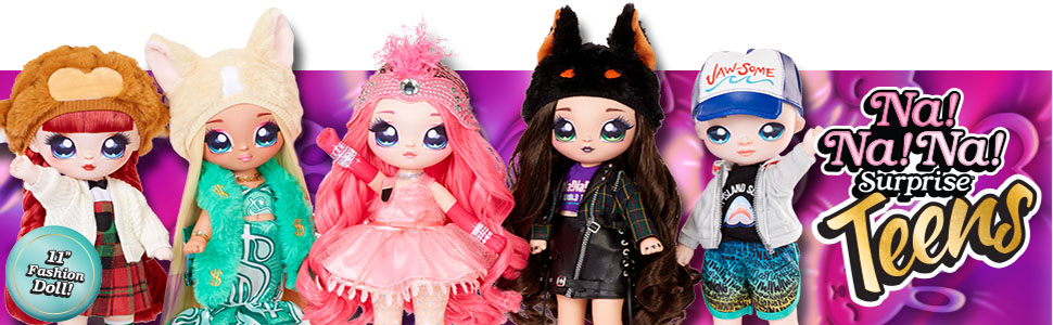 NaNaNa Surprise Teens Dolls