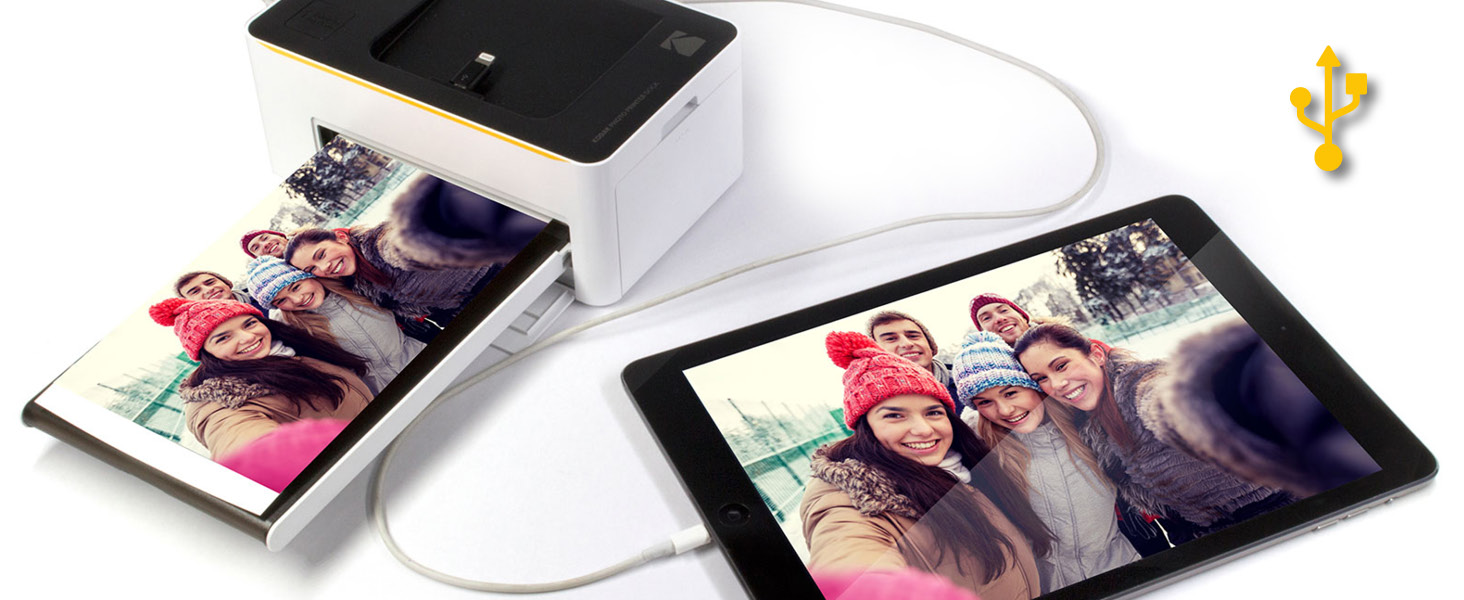 Kodak dock photo printer USB