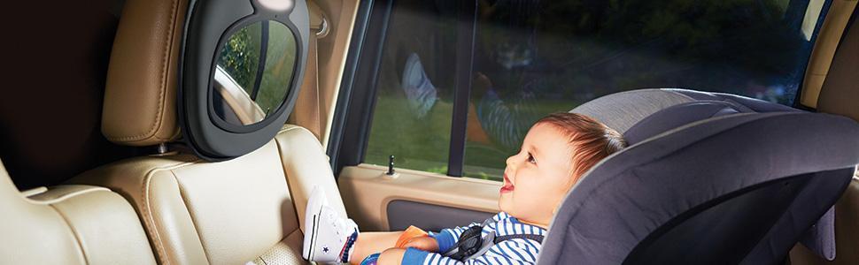 Amazon Com Brica Night Light Musical Baby In Sight Car
