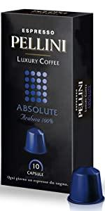 pellini caffè capsule compatibili nespresso luxury absolute
