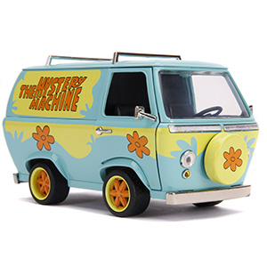 hollywood rides, diecast, die-cast, vehicle, collectible, entertainment, dc, scooby