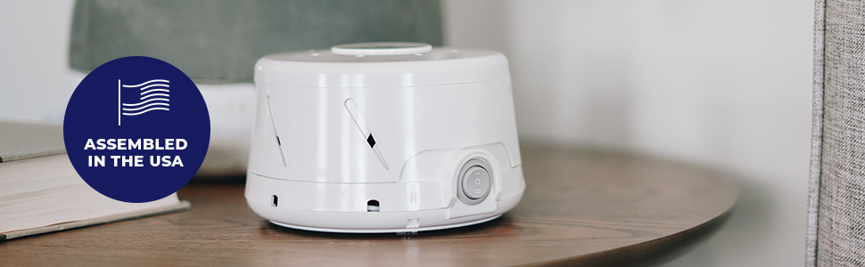 dohm classic white noise natural fan sound machine bed sleep relax masking