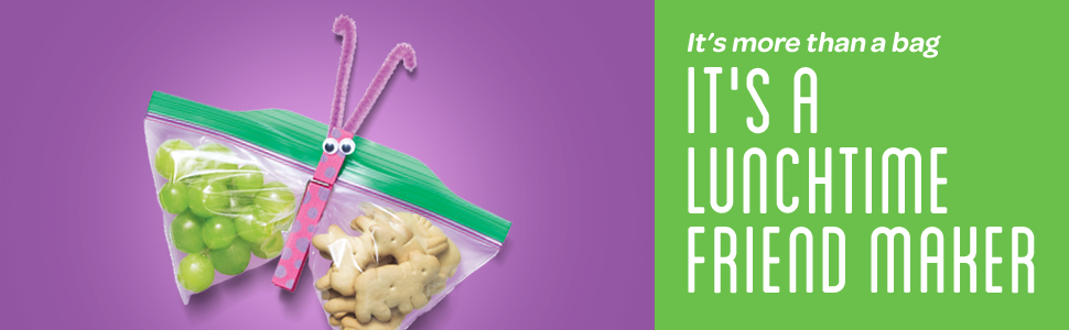 It's more than a bag, IT'S A LUNCHTIME FRIEND MAKER