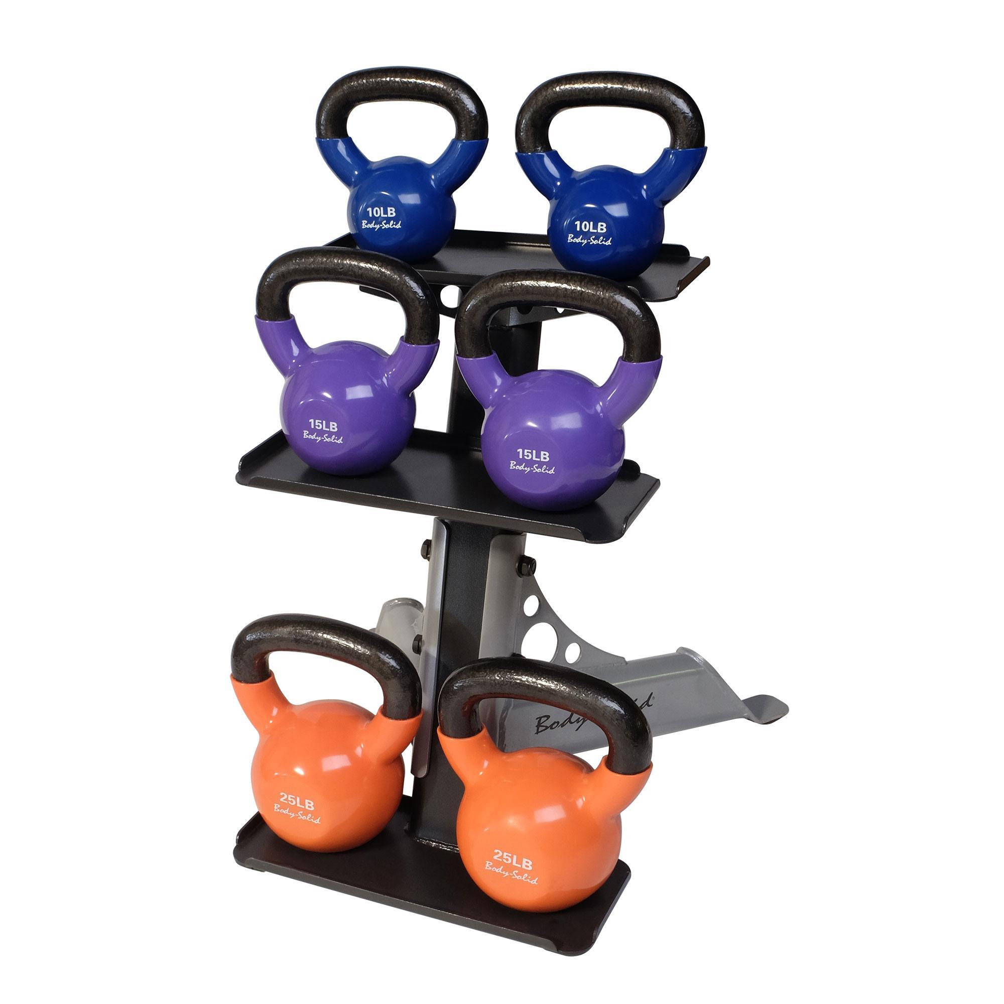 3 Tier Kettlebell Rack Gdkr50: Amazon.com : Body-Solid Kettle Bell Rack : Kettlebell